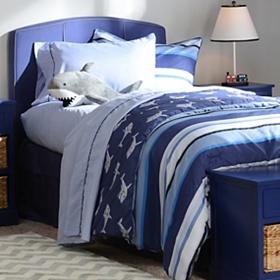 Shark Full Comforter Set with Friend, 9-pc.
