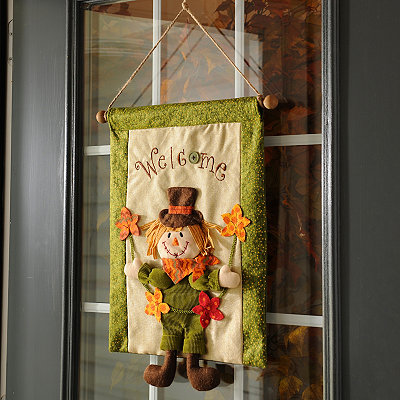 Scarecrow Welcome Banner