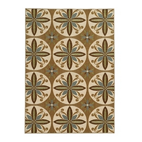 Ariel Medallion Area Rug, 8x10