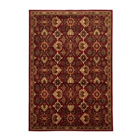 Ashtyn Ruby Area Rug, 5x7
