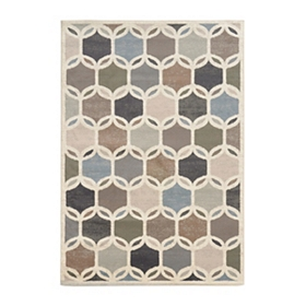 Bartlett Circles Area Rug, 5x7