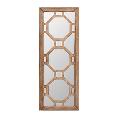 Mirrored Quatrefoil Wall Plaque