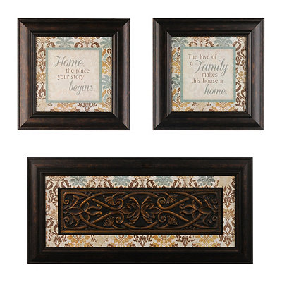 Our Home Shadowboxes, Set of 3