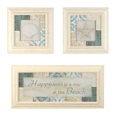 Happiness Is Shadowboxes, Set of 3