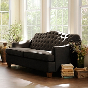 Bardot Charcoal Gray Sofa