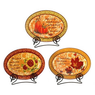 Grateful Heart Thanksgiving Plaques