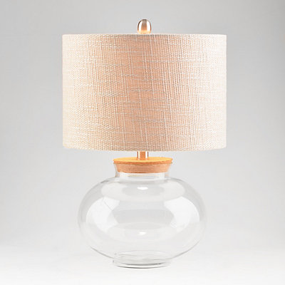 Glass Keepsake Table Lamp