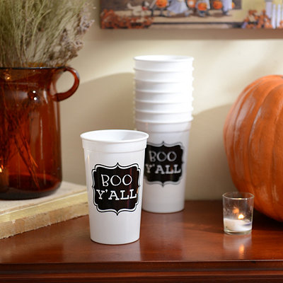 Boo Y'all Stadium Cups