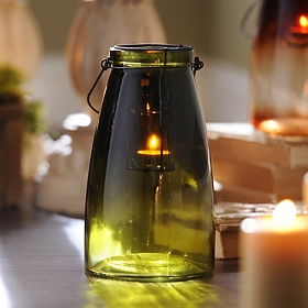 Green Gradient Lantern