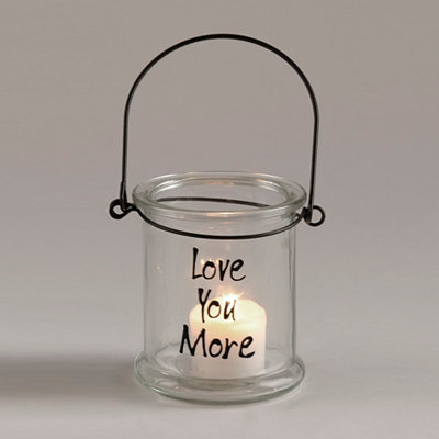 Love You More Lantern