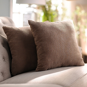 Tan Hamilton Pillows, Set of 2