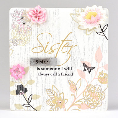 Sisters Plaque