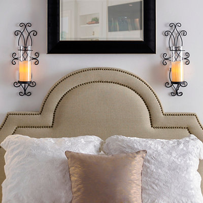 Smith Scrolled Sconces, Set of 2