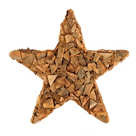 Wood Chip Star