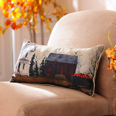 Pumpkins for Sale Accent Pillow