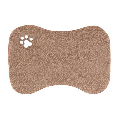 Furry Friends Beige Pet Mat
