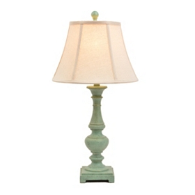 Chic Green Table Lamp