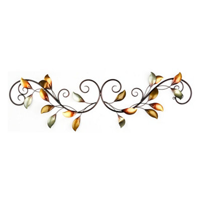 Melody of Leaves Wall Plaque