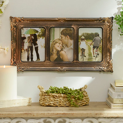 Bronze Victorian Collage Picture Frame