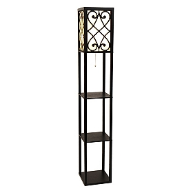 Abby Shelf Floor Lamp