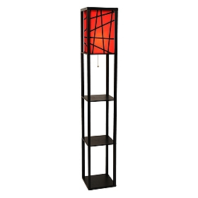 Siena Shelf Floor Lamp