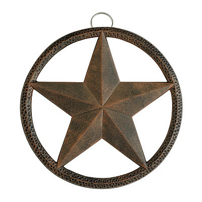 Antique Copper Star Trivet