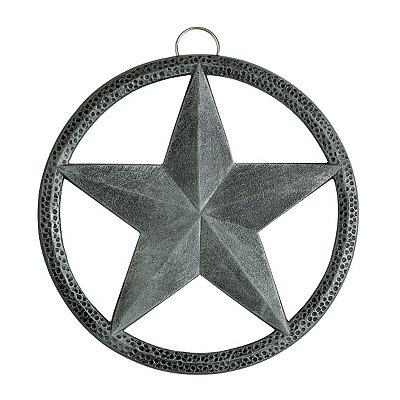 Antique Pewter Star Trivet