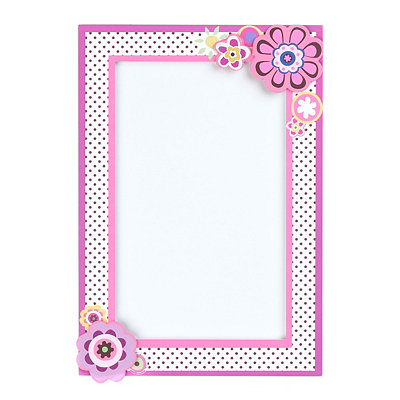 Preppy Girl Dry Erase Message Board