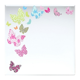 Butterflies Decorative Mirror