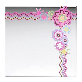 Preppy Girl Decorative Mirror
