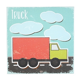 Truck Canvas Art Print