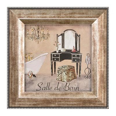 Salle de Bain II Framed Art Print