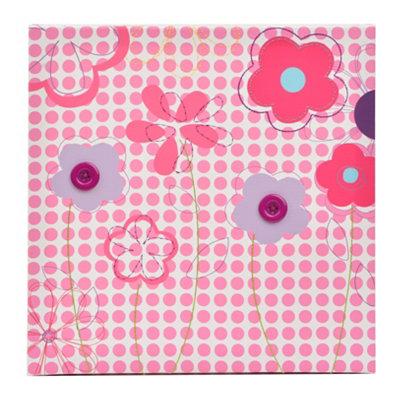 Pink Garden Party Canvas Art Print