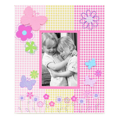 Butterfly Garden Party Picture Frame, 3.5x5
