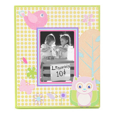 Owl Garden Party Picture Frame, 3.5x5