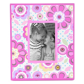 Preppy Girl Picture Frame, 3.5x5