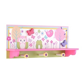 Garden Party Shelf with Hooks