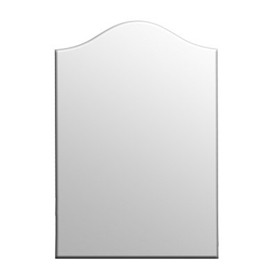Beveled Frameless Mirror, 24x36