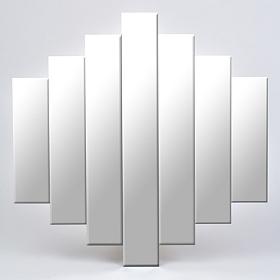 Cascade Frameless Mirror, 35x35