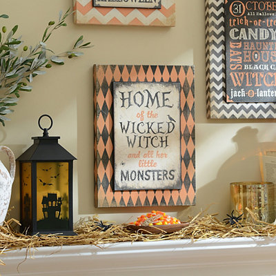 Home of the Wicked Witch Canvas Art Print
