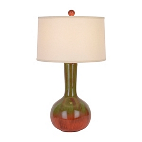 Ceramic Green Table Lamp