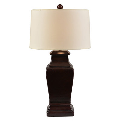 Warm Bronze Ceramic Table Lamp