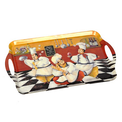 Busy Kitchen Chef Tray