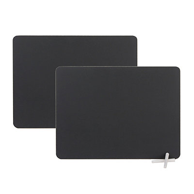 Chalkboard Placemats, Set of 2