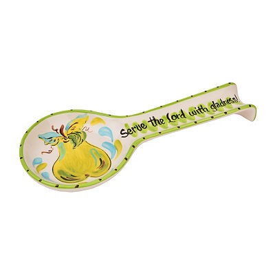 Serve the Lord Spoon Rest
