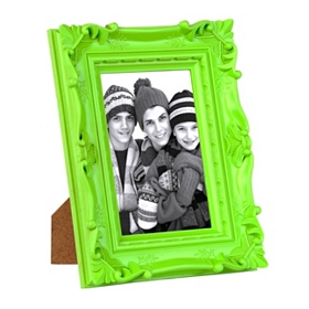 Karolina Ornate Green Picture Frame, 5x7