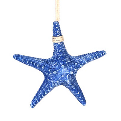 Blue Starfish Hanger Figurine