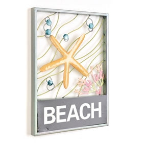 Beach Life Metal Wall Plaque