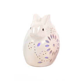 White Rabbit Night Light LED Statue