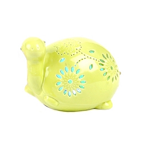 Green Turtle Night Light LED Statue